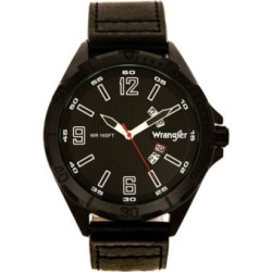 Wrangler 48MM Black Case Black Dl Black Strap, WRW2600-1A found on Bargain Bro Philippines from Tractor Supply for $64.99