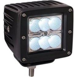 Buyers Products 3.75 in. Square Clear Flood Light