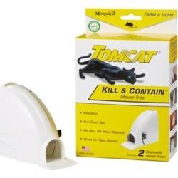 Tomcat Kill & Contain Mouse Trap 2-Pk.