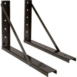 Buyers Products 24 in. x 24 in. Welded Black Structural Steel Mounting Brackets