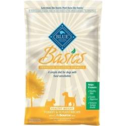 Blue Buffalo Basics Adult Healthy Weight Turkey & Potato Recipe Dry Dog Food, 24 lb.
