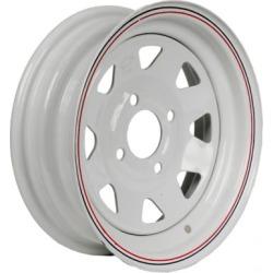 Martin Wheel 4-Hole Steel Custom Spoke Trailer Wheel, 12x4, 4 hole