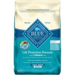 Blue Buffalo Life Protection Formula Fish & Oatmeal Recipe For Large Breed Adult Dogs, 30 lb.