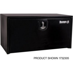 Buyers Products 24 in. x 24 in. x 36 in. Black Steel Underbody Truck Box with 3-Point Latch