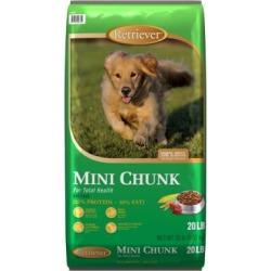 Retriever Mini Chunk Dog Food; 20 lb. Bag