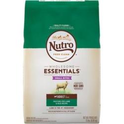 Nutro Natural Choice Small Bites Adult Dog Food, Lamb Meal & Rice Formula, 15 lb.