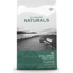 Diamond Naturals Small Breed Lamb & Rice Formula Adult Dog Food; 18 lb. Bag