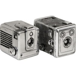 Vintage Camera Boxes; Set of 2