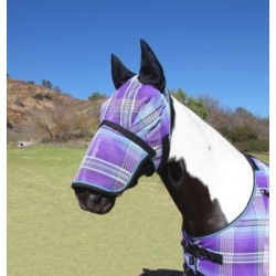 Kensington Draft Fly Mask with Ears and Removable Nose