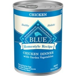 Blue Buffalo Homestyle Recipe Chicken Dinner with Garden Vegetables Wet Dog Food; 12.5 oz.