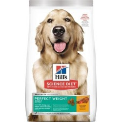 Hill's Science Diet Adult Perfect Weight Chicken Recipe Dog Food, 4 lb. Bag
