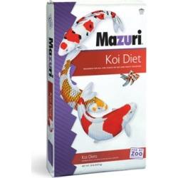Mazuri Platinum Bits Koi Fish Food Pellets, 20 lbs., 1492