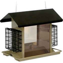Stokes Select Large Hopper with Suet Holders