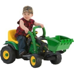 Peg Perego John Deere Mini Power Loader Tractor