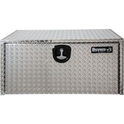 Buyers Products 14 in. x 12 in. x 30 in. Diamond Tread Aluminum Underbody Truck Box