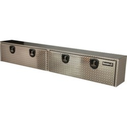 Buyers Products 16 in. x 13 in. x 96 in. Diamond Tread Aluminum Topsider Truck Box