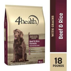 4health Original Beef & Rice Formula Adult Dog Food, 18 lb. Bag found on Bargain Bro from Tractor Supply for USD $16.71