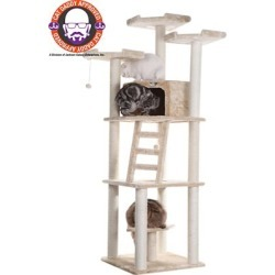 Armarkat Cat Tree, Model A8001, Beige