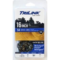 TriLink Saw Chain 16 in. Semi Chisel Saw Chain; 3/8 in. LP Pitch; .050 in. Gauge; 54 DL