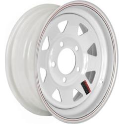 Martin Wheel 5-Hole Steel Custom Spoke Trailer Wheel, 13x5, 5 hole