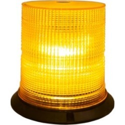 Buyers Products Amber 6 LED Beacon Light with Tall Lens 6.75 in. Diameter x 6.75 in. Tall