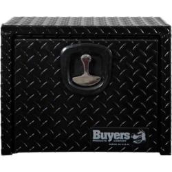 Buyers Products 18 in. x 18 in. x 18 in. Black Diamond Tread Aluminum Underbody Truck Box