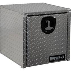 Buyers Products 18 in. x 18 in. x 18 in. Diamond Tread Aluminum Underbody Truck Box