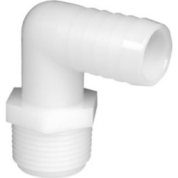 Green Leaf Inc. Nylon 90 Degree Elbow, 3/8 in. MPT x 3/8 in. Barb found on Bargain Bro from Tractor Supply for USD $1.44
