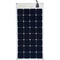 Grape Solar 100-Watt Flexible Monocrystalline Solar Panel for Off-Grid Solar System, GS-FLEX-100W-SP