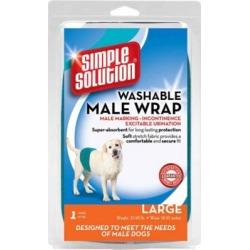 Simple Solution Washable Male Dog Wrap, Large