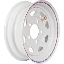 Martin Wheel 5-Hole Steel Custom Spoke Trailer Wheel, 12x4, 5 hole