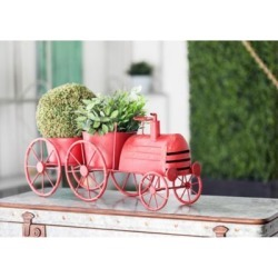 Harper & Willow Rustic Iron Train Planter Set, 22 in. x 10 in., 94832 found on Bargain Bro Philippines from Tractor Supply for $57.99