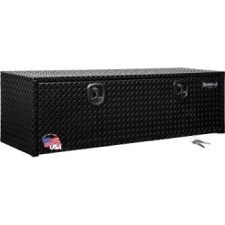 Buyers Products 18 in. x 18 in. x 60 in. Black Diamond Tread Aluminum Underbody Truck Box