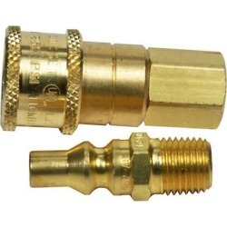 Mr. Heater Propane/Natural Gas 1/4 in. Quick Connector and Excess Flow Male Plug