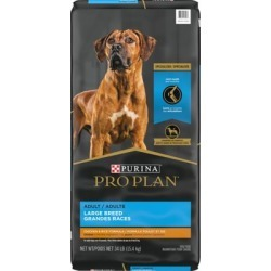 Purina Pro Plan FOCUS Large Breed Formula Adult Dry Dog Food, 34 lb. Bag