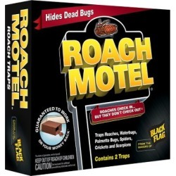 Black Flag Roach Motel; Pack of 2 Traps