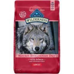BLUE Wilderness Salmon Recipe For Adult Dogs; 11 lb. Bag