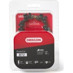 Oregon 20 in. Bar Saw Chain; 0.375 Pitch; 0.050 Gauge; Use 5/32 in. File; 72 Drive Links