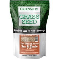 GreenView F Type Tall Fescue Sun Shade Blend, 3 lb., 2829346 found on Bargain Bro Philippines from Tractor Supply for $21.99