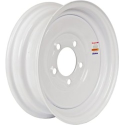 Martin Wheel 5-Hole Steel Trailer Wheel, 12x4, 5 hole