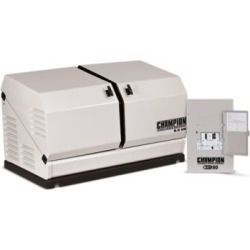Champion Power Equipment 8.5-kW Home Standby Generator with 50-Amp Indoor-Rated Automatic Transfer Switch found on Bargain Bro India from Tractor Supply for $2982.99