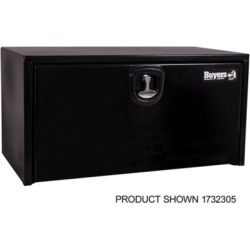Buyers Products 24 in. x 24 in. x 24 in. Black Steel Underbody Truck Box with 3-Point Latch
