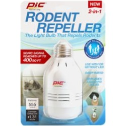 PIC Rodent Repeller and LED Light