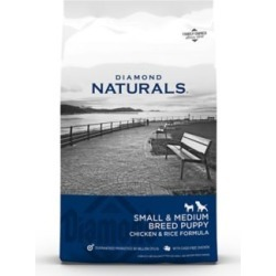 Diamond Naturals Small Breed Puppy Chicken & Rice Formula Dog Food, 6 lb. Bag