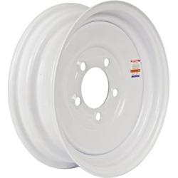 Martin Wheel 5-Hole Steel Trailer Wheel, 12x4, 5 hole