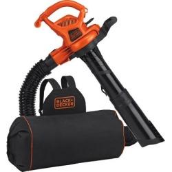 Black & Decker 3-in-1 VACPACK 12A Corded Leaf Blower; Vacuum & Mulcher; BEBL7000