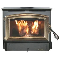Buck Stove Model 21 Wood Stove with Gold Door, FP 21G