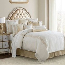 HiEnd Accents Hollywood 4 pc. Comforter Set Sq FB1774-SQ-OC