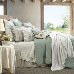 HiEnd Accents 4Pc Belmont Comforter Set Super King, FB1611-SK-OC