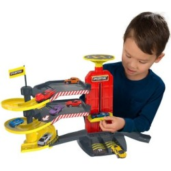 Speedsterz Speedsterz City Park & Drive Garage Play Set - Includes 5 Realistic Die Cast Cars, 1416688.USA found on Bargain Bro Philippines from Tractor Supply for $35.99